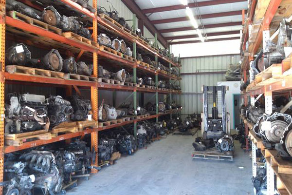 Southern Auto Salvage used auto parts warehouse